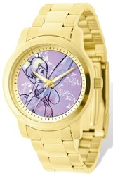 Ladies Disney Tinker Bell Gold-tone Bracelet Watch