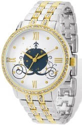 Ladies Disney Two-tone Cinderella Coach Watch