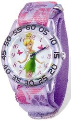 Disney Tinker Bell Acrylic Nylon Time Teacher Watch
