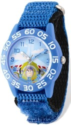 Disney Toy Story Buzz Acrylic Blue Band Time Teacher Watch