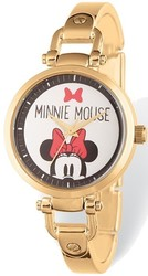 Disney Adult Size Minnie Mouse Gold-tone Watch (XWA5395)