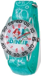 Disney Kids Princess Ariel Time Teacher Watch