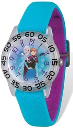 Disney Kids Frozen Elsa & Anna Stretch Time Teacher Watch