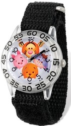 Disney Kids Tsum Tsum Winnie the Pooh & Friends Time Teacher Watch