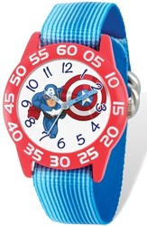 Marvel Kids Captain America Time Teacher Watch (XWA5448)