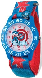 Marvel Kids Captain America Time Teacher Watch (XWA5449)