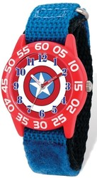 Marvel Kids Captain America Time Teacher Watch (XWA5450)