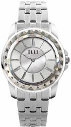 ELLE Watch - W1421 - RADIANT Stainless Steel Case, Sunray Mother of Pearl Dial, and Stainless Steel Band (30mm Case) - LIMITED STOCK