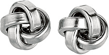 Silver Rhodium Plated 10.0mm (3/8