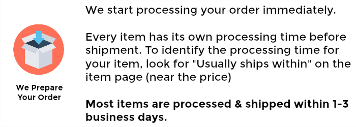 Step 2: We Process Your Order