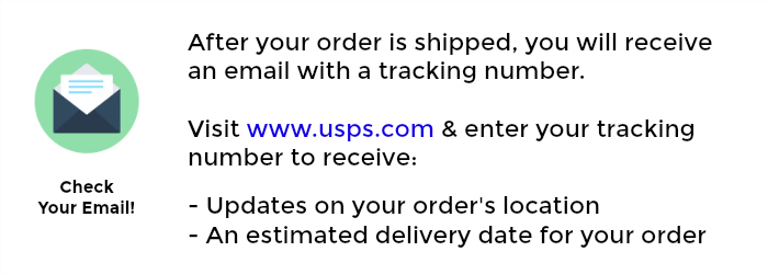 Step 4: You Track Your Order