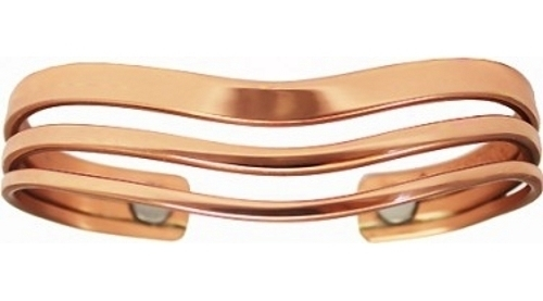 Sleeves Magnetic - Sergio Lub Copper Bracelet - Made in USA! (lub833)
