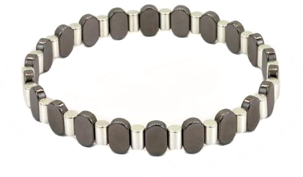Spikes & Surfboards BT009-2 - Magnetic Bracelet - Claspless Design by L Michaels