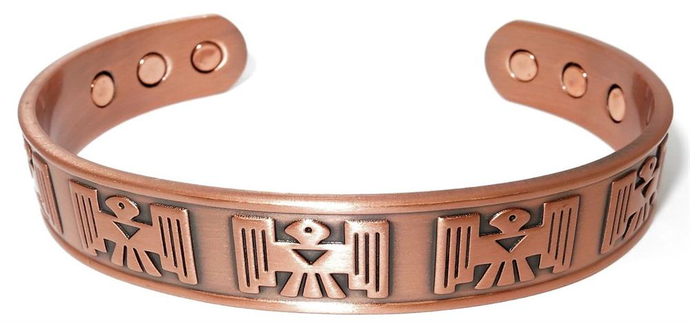 """Mayan"" - Solid Copper Magnetic Therapy Bracelet"