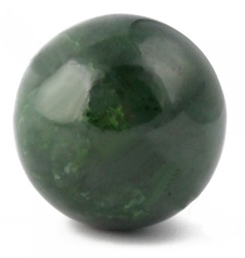 Genuine Natural Nephrite Jade Sphere Grade A 30mm