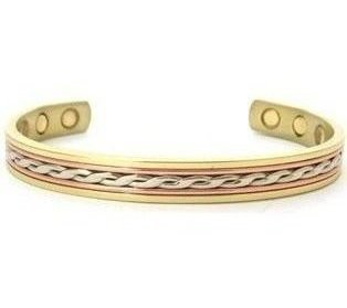 Juno - Solid Copper Magnetic Therapy Bracelet (MBG-20)