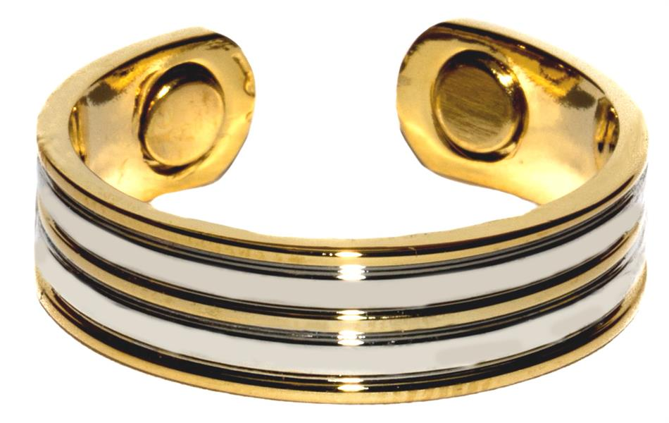 Stripes - Magnetic Therapy Ring (R01) - DISCONTINUED