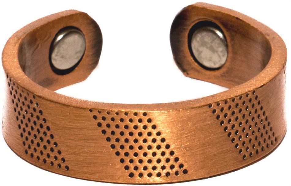 Copper Classic - Magnetic Therapy Ring (CR-17)