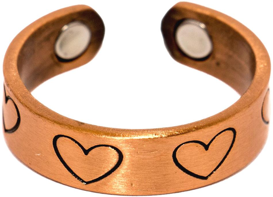 Copper Hearts - Magnetic Therapy Ring (CR-20)