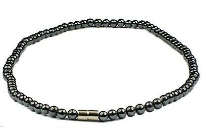 Hematite Classic - Magnetic Therapy Necklace (HN-07)