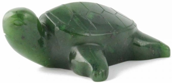 Jade Turtle Figurine (Multiple Sizes Available) (HNW-146)