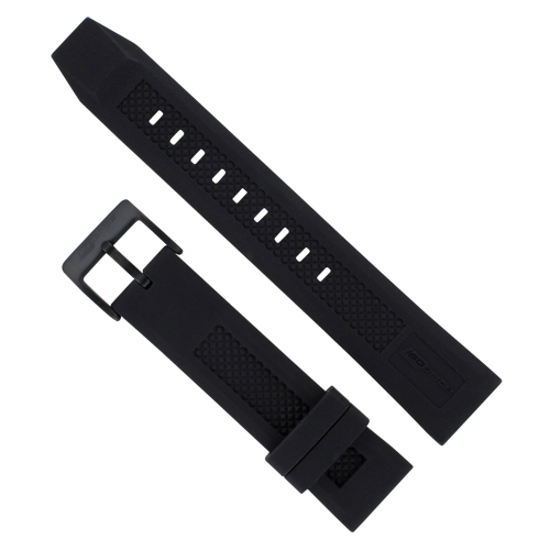 ArmourLite - Replacement Black Silicone Band IRB100-BO for Isobrite T100 Watches