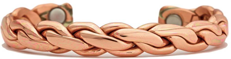 Copper Chain - Sergio Lub Copper Magnetic Therapy Bracelet - Made in USA! (lub794) - DISCONTINUED