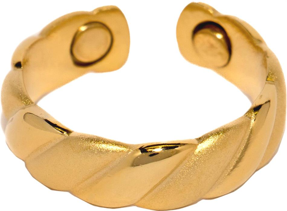 Gold Plated Magnetic Therapy Ring (R03) - DISCONTINUED