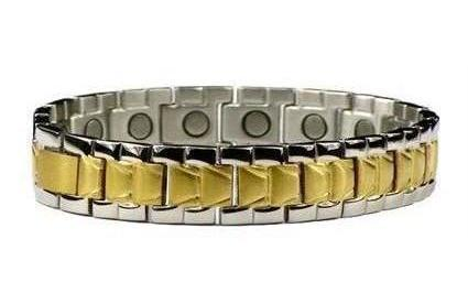 Cascade Waterfalls - Stainless Steel Magnetic Therapy Bracelet (SS-49)
