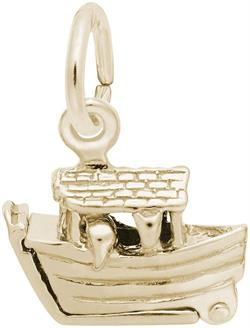 Noahs Ark Charm (Choose Metal) by Rembrandt