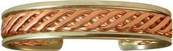 Celtic - Sergio Lub Copper Magnetic Therapy Bracelet - Made in USA! (lub793) - DISCONTINUED