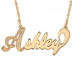 Alison & Ivy - Multi-Diamond Name Necklace - Customizable Jewelry Collection