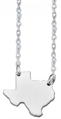 Alison & Ivy - Home Sweet Home State Necklace 13mm - Customizable Jewelry Collection