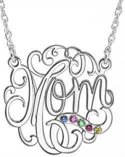 Alison & Ivy - Mom Birthstone Necklace - Customizable Jewelry Collection