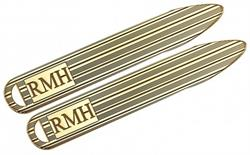 Alison & Ivy - Patterned Monogram Collar Stays - Customizable Jewelry Collection