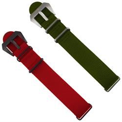 ArmourLite - Replacement Nylon Band - ALNS22 Red or Green 22mm