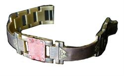 Large Copper Square Design WatchCraft (R) Handmade Bracelet (B32)