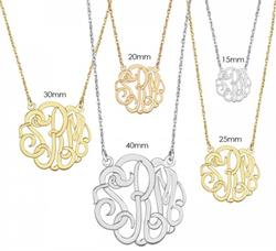 Alison & Ivy - Classic Monogram Necklace - Customizable Jewelry Collection