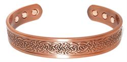 Celtic Braids - Solid Copper Magnetic Therapy Bracelet