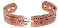 Grace - Solid Copper Magnetic Therapy Bracelet