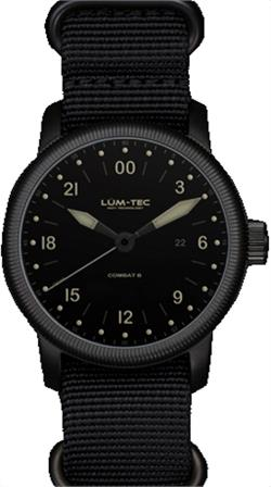 Lum-Tec Watch - Combat B - B27 Military 24H - with 2 Straps - DISCONTINUED