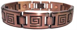 Copper Maze - Magnetic Therapy Bracelet (CLN-8)