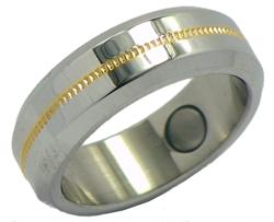 Stainless Steel Magnetic Therapy Ring (SRQ3)