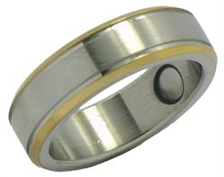 Stainless Steel Magnetic Therapy Ring (SR13)