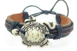 FREE GIFT - Adjustable Turtle Faux Leather Bracelet