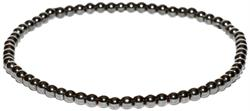 Hematite Spheres - Magnetic Therapy Anklet (HA-06) - Our Most Popular