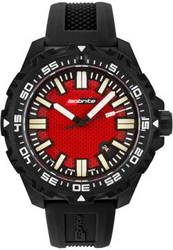 ArmourLite Tritium Watch - Isobrite Afterburner Series Red Dial ISO4003