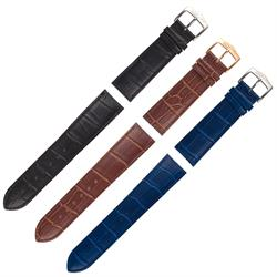 ArmourLite - Replacement Genuine Leather Band - ISO900 22mm Blue, Brown or Black