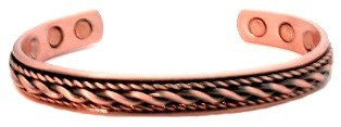 Thesan - Solid Copper Magnetic Therapy Bracelet (MBG-13)