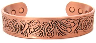 Zeus - Solid Copper Magnetic Therapy Bracelet (MBG-23)